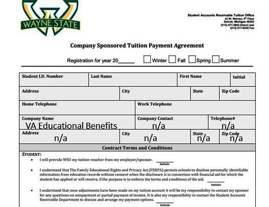 Benefit forms - Office of Military and Veterans Academic ...