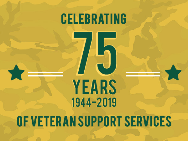 75 Years of Veteran Support Services